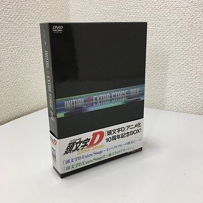 INITIAL D Initial D Extra Stage 10th anniversary DVD BOX JAPAN AE86 W/Sticker