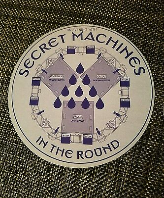 The Secret Machines The Round poster , Authentic Hand out from the Portland Show