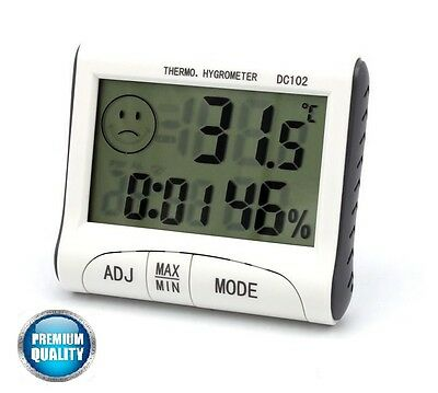 Mini Digital Thermometer Hygrometer Humidity Meter lot Temperatur Indoor LCD