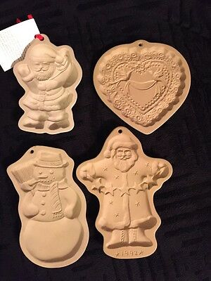 4 Christmas Cookie Stamps - 3 Brown Bag Art - 1 Kitchen Collection