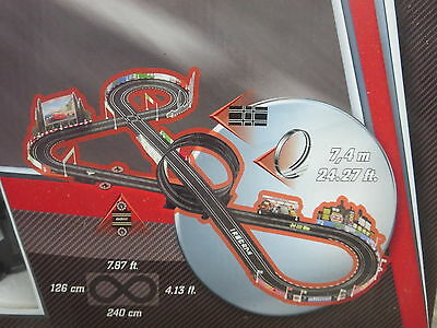 Carrera Go 1/43 Slot Car Track Replacement Pieces Disney Pixar Around The Wourld