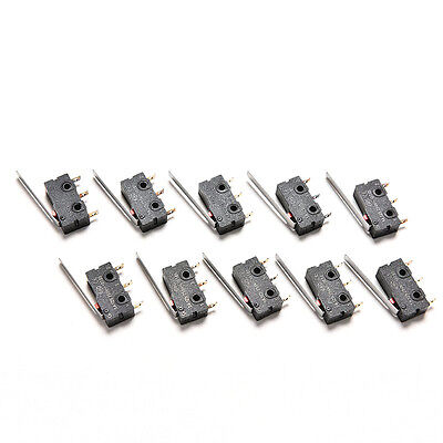 New 10PCS Tact Switch KW11-3Z 5A 250V Microswitch 3PIN Buckle Gift LIAU