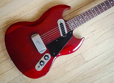 1970's Gibson SG-100 Vintage Electric Guitar Melody Maker Cherry w/ Case