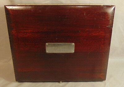 Antique Caulk X-Ray Film Chest Metal Lined Dentistry Film Box Early 20th Century