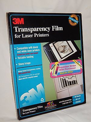 3M Transparency Film For Laser Printers CG3300 (49 Sheets)