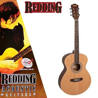 Redding Rgc61Ns Grand Concert Acoustic Guitar Spruce Top Free Online Lessons