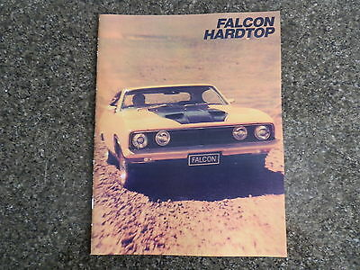 1973 Xb Ford Falcon Coupe Sales  Brochure Incl Gt.   100% Guarantee.