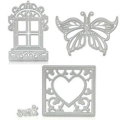 1PC Cutting Dies Metal Diary Stencil Craft Decor DIY Scrapbooking Paper Card