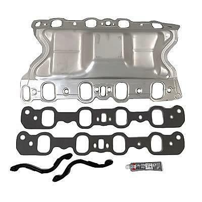 Felpro Inlet Gasket Bathtub Set Suit Ford Cleveland 302-351 2V Heads - Fems96010