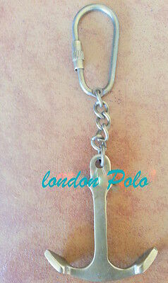 vintage antique look brass key chain expert quality