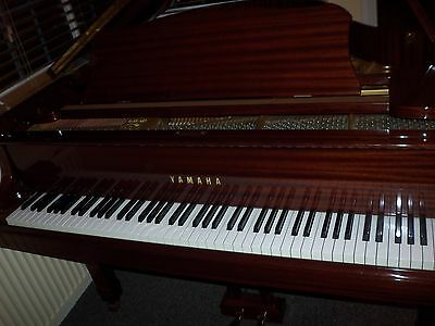 Yamaha G2 Grand Piano Pristine condition Polished Mahogany