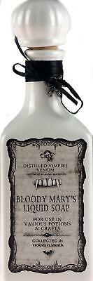 Novelty White Bloody Mary Poison Bottle With Stopper / Decorative Ornament