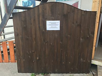 Omega top Vertical feather edge Fence fencing Panel heavy duty also sheds & gate