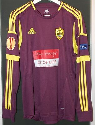 Anzhi (Russia) Europa League Match Worn Shirt France Real Madrid Chelsea Arsenal