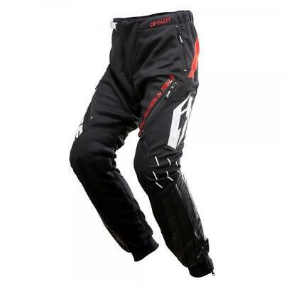 Jitsie Omnia Trials Bike Riding Pants / Trousers. Black/Red. Great Quality