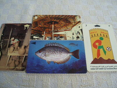 4 x GPT, 3 OMAN ,, 1 Bahrain used phone  as scan fish/roof/potteryfootball