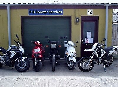 Scooter Motorcycle Repairs And Service Inc All Chinese Makes and Models