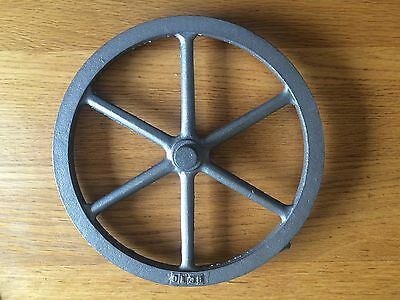 "9 1/4""Model Making Steam Engine Cast Iron Fly Wheel"