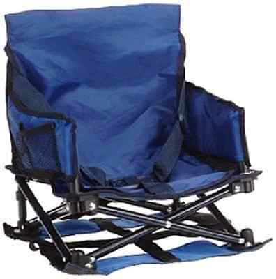 Regalo My Chair Folding Portable Booster Seat, with Travel Case and Cup Holder