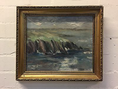 Near St Davids Original + Signed Oil Painting on Board by Wendy Clifford - VR