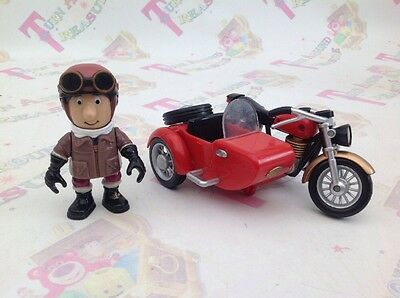 Postman Pat Ajay With Motorbike And Sidecar 2006 Figure