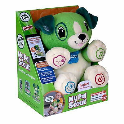 LeapFrog My Pal Scout Puppy Educational Soft Toy.