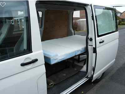 Full width Rock and Roll Bed, New 3 section design  VWT5,T4 Vito,Vivaro, Transit