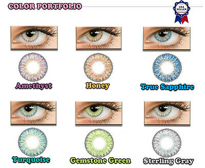 SALE New Fresh Colored Contact Lenses Kontaktlinsen Coloured Contacts Lens Color
