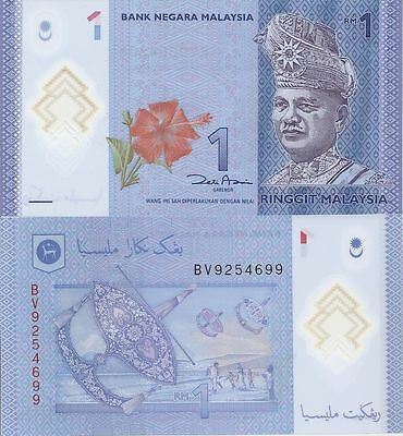 Banknote, Malaysia, 1 Ringgit (2012), P. 50, unc (Polymer)