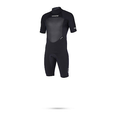 Mystic STAR 3/2 Flatlock Shorty Wetsuit 2017 - Black