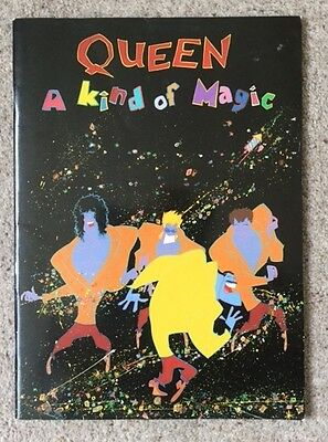 "Queen 1986 ""A Kind Of Magic"" Tour Programme"