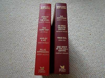 This is a pair of vintage Reader's Digest Select Editions books