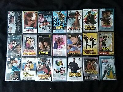 56 Bollywood Classic Hindi Indian Audio Music Cassettes Joblot Bundle Not A Cd