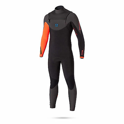 Mystic CROSSFIRE 5/4 GBS Frontzip Wetsuit 2017 - Coral