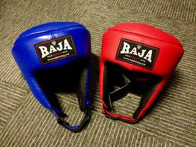 Raja Open Face Muay Thai Competition Head Guard Boxing Mma Sparring Aus Stock