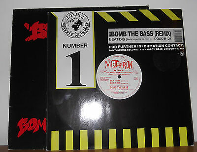 "Bomb The Bass ‎– Beat Dis x2 12"" vinyl"