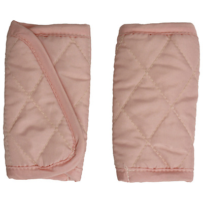 Mint Marshmallow car seat strap covers for infant & baby car seat