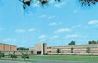 "Chatham New Jersey ""high School"" Unused Postcard"