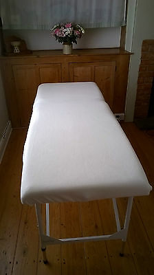 Massage Therapy Treatment Couch/table Fleece Cover No Facehole-Various Colours