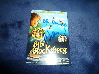 ELFIE DONNELLY & ULRICH NOETHEN signed Autogramm In Person BIBI BLOCKSBERG rar!!