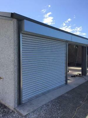 Shop Front Electric Roller Shutter / Garage Doors- Powder Coating Available