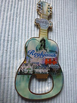 1 Hard Rock Cafe  Magnet Bottle Opener Reykjavik New