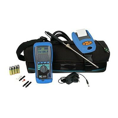 KANE255 Combustion Analyser, KANE IRP-2 Infa-red printer and Carry bag!