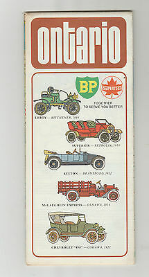 1973 Supertest Oil Company Road Map of Ontario