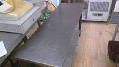 Commercial Catering Stainless Steel Table with Shelf Below K1022
