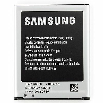 New Replacement Li-ion Battery For SAMSUNG GALAXY S3 GT-i9300 2100mAh UK