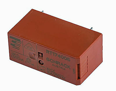SPDT PCB Mount Non-Latching Relay Through Hole 6V DC RS No 231-2147 UK Stock