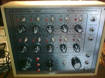 MFOS 10 Step Analog Sequencer