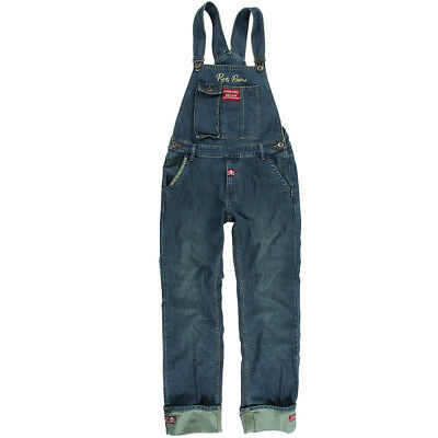 Rusty Pistons Vintage Rockabilly Jeans Latzhose Overall - Bedford Denim