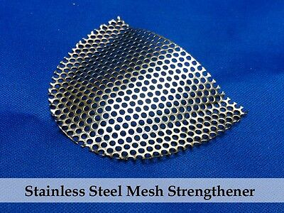 10 Pieces Of Stainless Steel Mesh Support for your acrylic dentures dental lab